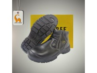 Zip-up Ankle Boot Shoes (UK 4 -13) Safety Bee Three Boots Footwear BT-8833 Kasut Keselamatan LittleThingy